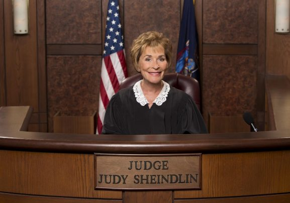 Judge Judy Gallery for the CBS special.  Photo: Sonja Flemming/CBS ©2014 CBS Broadcasting, Inc. All Rights Reserved